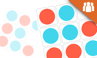 Tic Tac Toe Colors game
