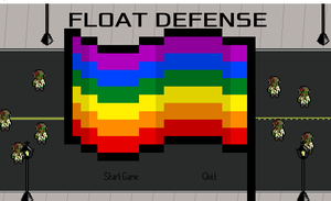 Floatdefense game