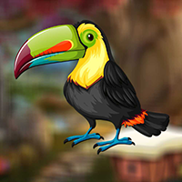 Cute Toucan Bird Escape game