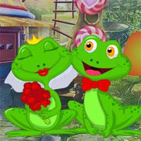 Lovely Frogs Escape game