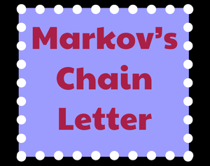 Markov'S Chain Letter game