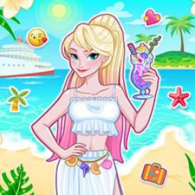 play Eliza'S Summer Cruise - Free Game At Playpink.Com