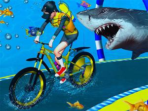 play Underwater Cycling Adventure