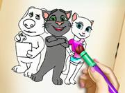 Kitty Coloring Book game