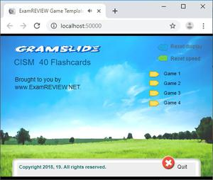 play Cramflash Cism 40 Random Flashcards App