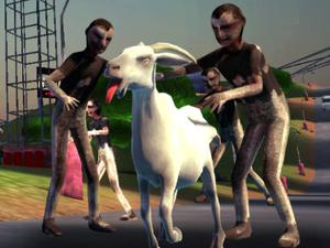 Goat Vs Zombies game