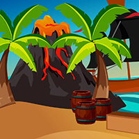 Island Beach Escape game