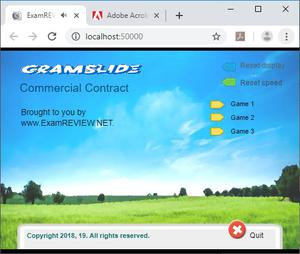 play Cramflash Commercial Contract 30 Random Flashcards App