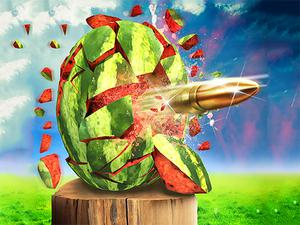 Watermelon Shooting 3D game