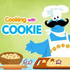 Sesame Street Cooking With Cookie game