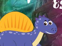 play The Purple Dino Escape