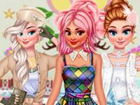 Princesses Carnival Party game
