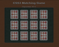 play Css3 Matching