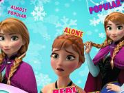 Frozen Personality Test game