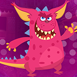 Pink Creature Escape game