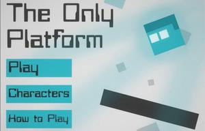 The Only Platform game