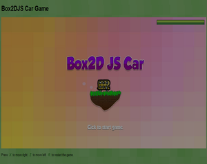 play Box 2D Car Game