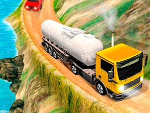 play Offroad Oil Tanker Truck Drive