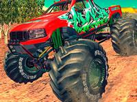 Monster 4X4 Offroad Jeep Stunt Racing 2019 game
