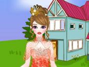 Pretty Princess Ball Dressup game