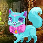 play Fantasy Blue Cat Escape