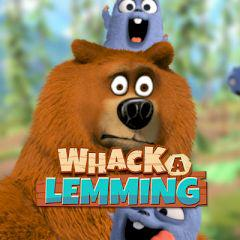 Grizzy & The Lemmings Whack A Lemming game
