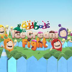 Oddbods Ice Cream Fight game