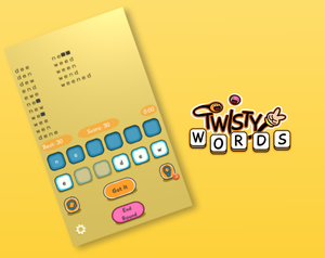 Twisty Words game