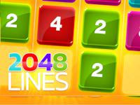 play 2048 Lines