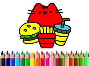 play Bts Cute Cats Coloring