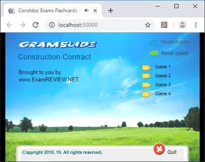 play Cramflash Construction Contract Exam Random Flashcard Apps