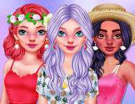 Girly Summer Patterns game