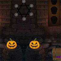 play 8Bgames-Halloween-Mask-Girl-Escape