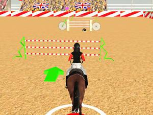 play Horse Jumping Show