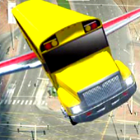 Flying Bus Simulator game