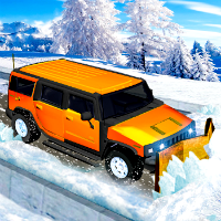 Snow Jeep Simulator game