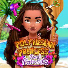 play Polynesian Princess Real Haircuts