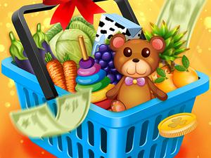 play Kids Go Shopping Supermarket