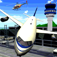 play Airplane Parking Mania 3D