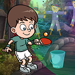 Table Tennis Player Escape game