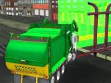play Town Clean Garbage Truck