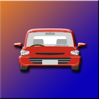 play G2J Little Red Car Escape
