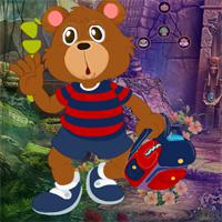 play Games4King Bear Student Escape