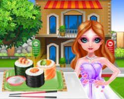 Elicious Sushi Cooking And Serving game