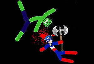Stickman Warriors Fatality game