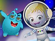 Baby Hazel Alien Friend game