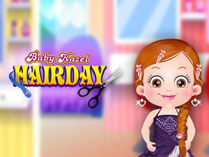 play Baby Hazel Hair Day