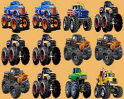 Monster Trucks Match 3 game