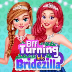 play Bff Turning Into Bridezilla