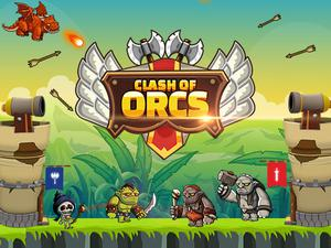 play Clash Of Orcs